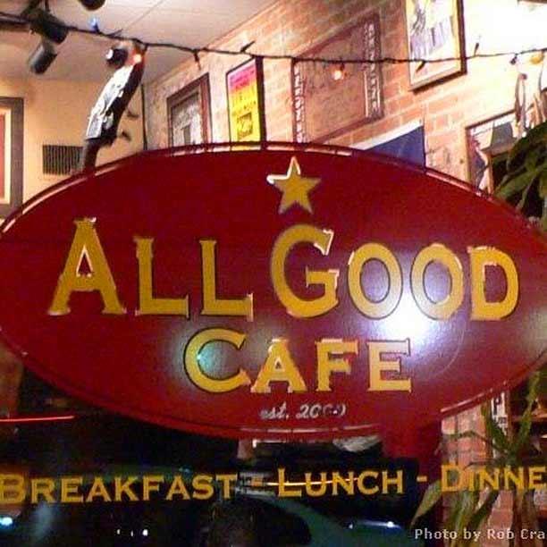 AllGood Café Sign