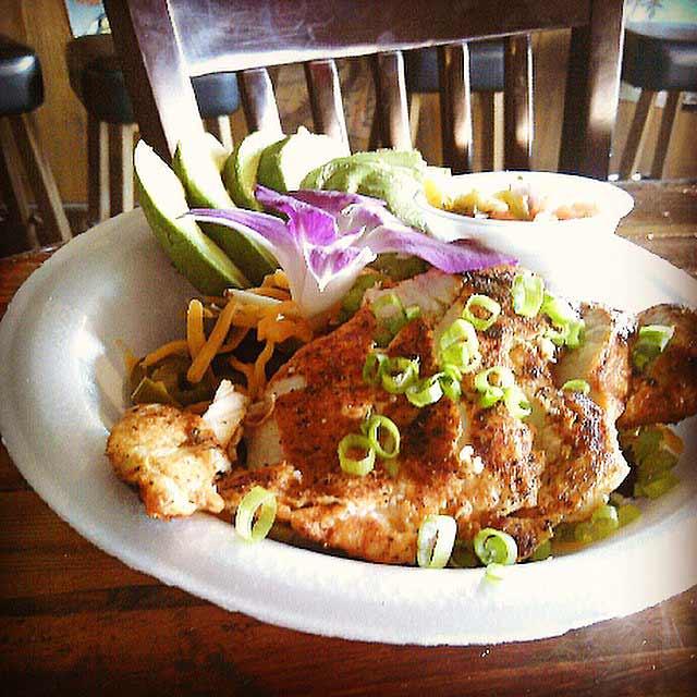 Sandbar Cantina and Grill food
