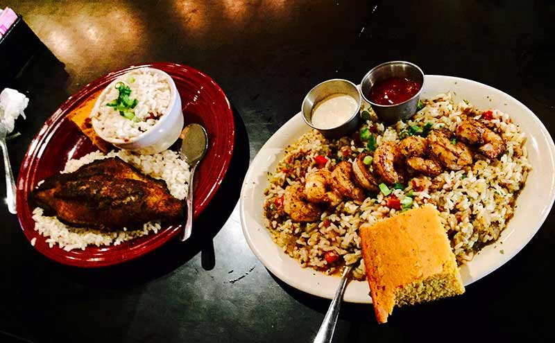 The Freeman Cajun Café and Lounge Food
