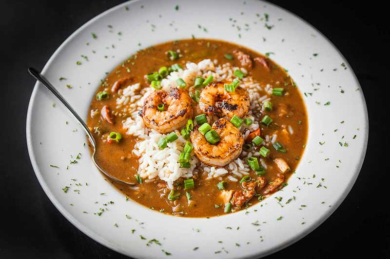 Zesty Cajun Food