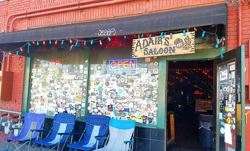 Adair's Saloon Sign