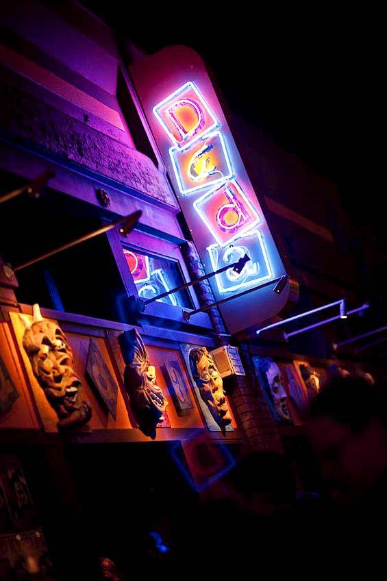 Club Dada Dallas Sign